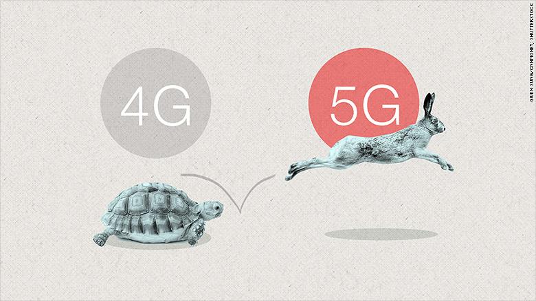 اینترنت نسل جدید ۵G در راه است