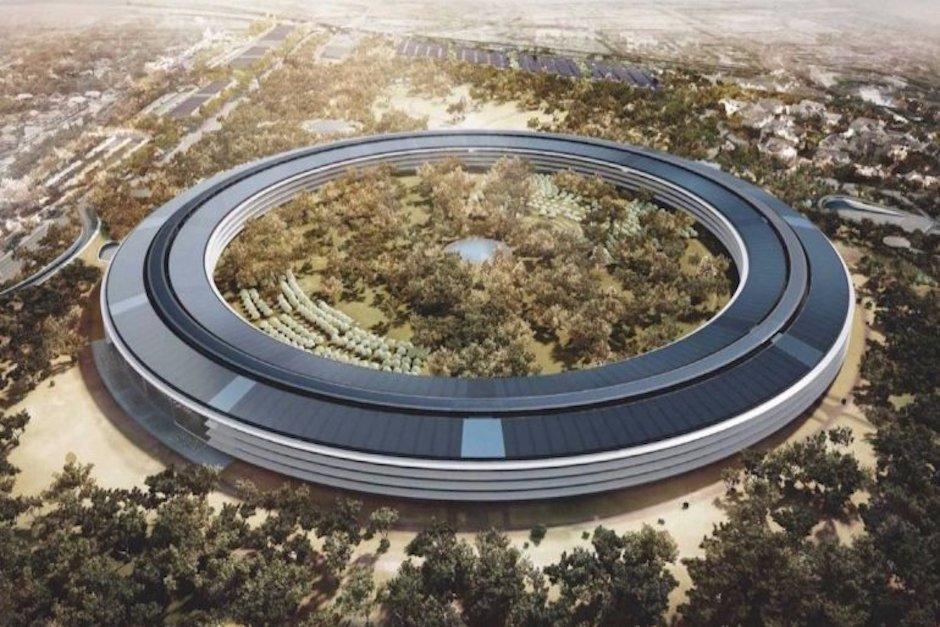 اپل پارک مقر ۵ میلیارد دلاری سازندهی آیفون