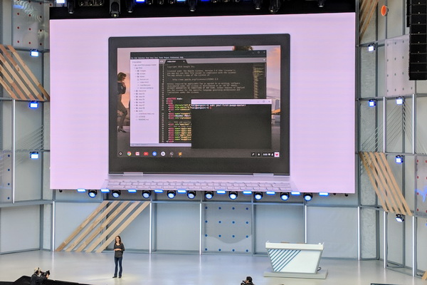گوگل امکان اجرای اپ های لینوکس را به سیستم عامل کروم آورد
